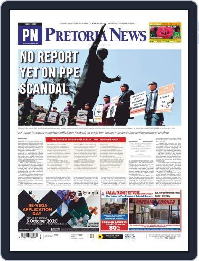 Pretoria News September 16th, 2020 Digital Back Issue Cover