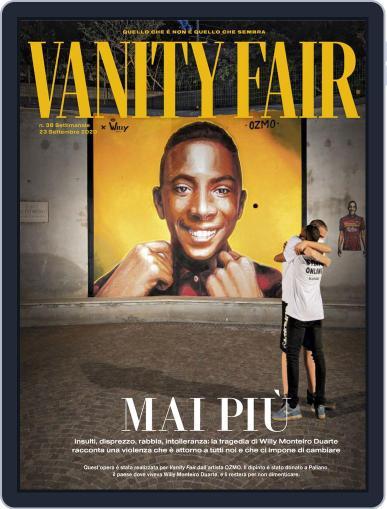 Vanity Fair Italia (Digital) September 23rd, 2020 Issue Cover
