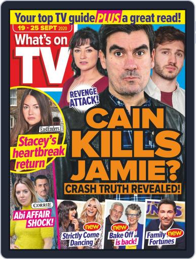 What's on TV September 19th, 2020 Digital Back Issue Cover