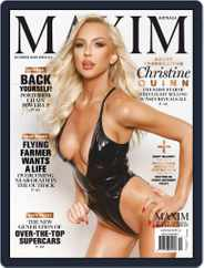 Maxim Australia (Digital) Subscription October 1st, 2020 Issue