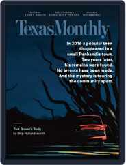 Texas Monthly (Digital) Subscription October 1st, 2020 Issue