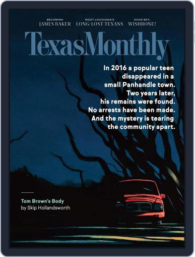 Texas Monthly (Digital) October 1st, 2020 Issue Cover