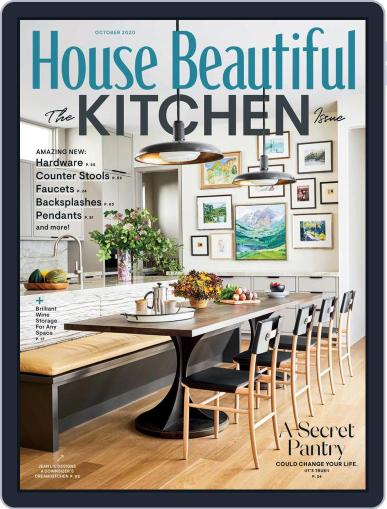House Beautiful (Digital) October 1st, 2020 Issue Cover