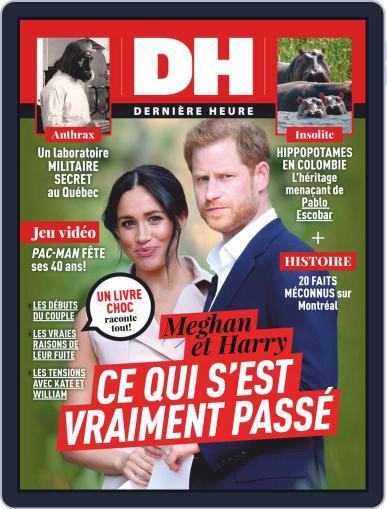 Dernière Heure November 27th, 2020 Digital Back Issue Cover