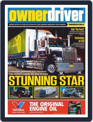 Owner Driver (Digital) September 1st, 2020 Issue Cover