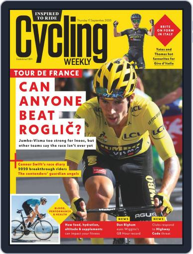 Cycling Weekly (Digital) September 17th, 2020 Issue Cover