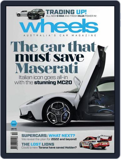 Wheels (Digital) October 1st, 2020 Issue Cover