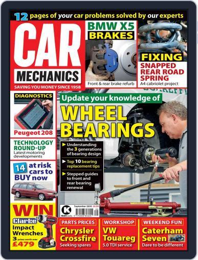 Car Mechanics (Digital) September 1st, 2020 Issue Cover