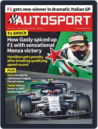 Autosport (Digital) September 10th, 2020 Issue Cover