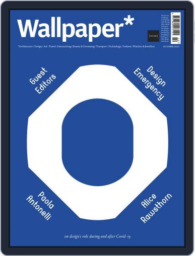 Wallpaper October 1st, 2020 Digital Back Issue Cover