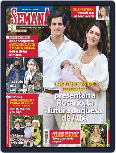 Semana (Digital) September 23rd, 2020 Issue Cover