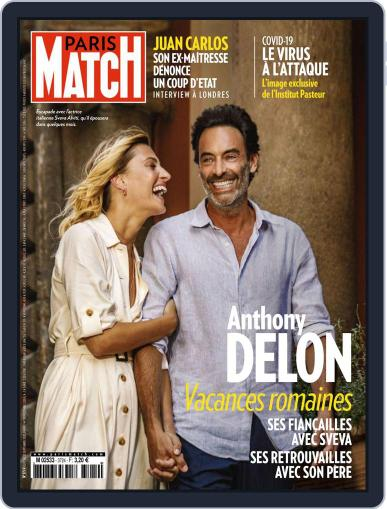 Paris Match September 17th, 2020 Digital Back Issue Cover