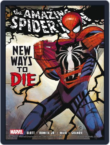 Amazing Spider-Man (1999-2013) (Digital) March 8th, 2012 Issue Cover