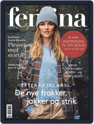 femina Denmark September 17th, 2020 Digital Back Issue Cover