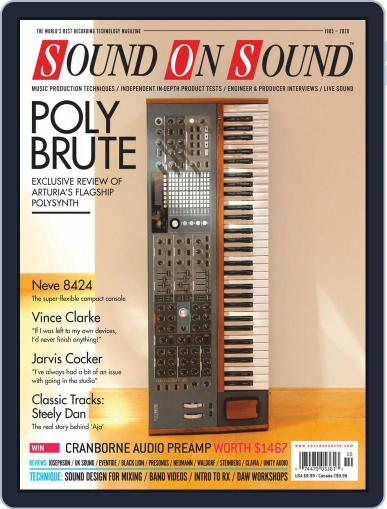 Sound On Sound USA October 1st, 2020 Digital Back Issue Cover