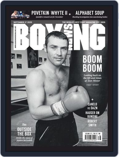 Boxing News (Digital) September 17th, 2020 Issue Cover