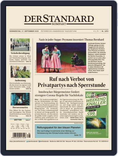 STANDARD Kompakt (Digital) September 17th, 2020 Issue Cover