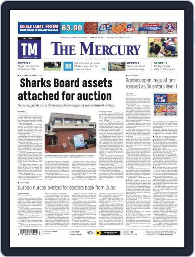 Mercury (Digital) September 17th, 2020 Issue Cover