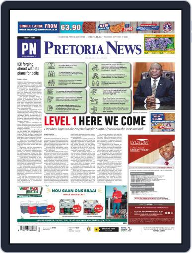 Pretoria News (Digital) September 17th, 2020 Issue Cover