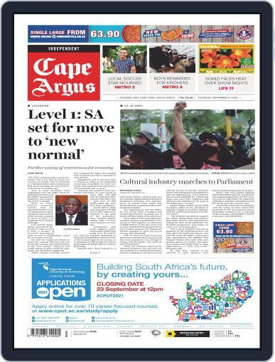 Cape Argus (Digital) September 17th, 2020 Issue Cover