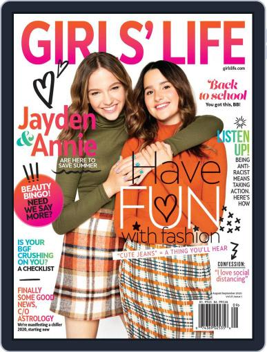 Girls' Life (Digital) August 1st, 2020 Issue Cover