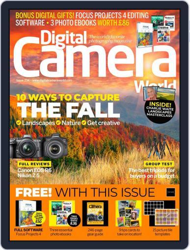 Digital Camera World October 1st, 2020 Digital Back Issue Cover
