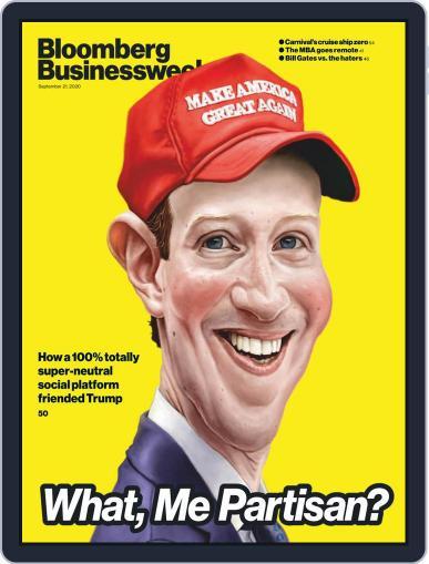 Bloomberg Businessweek (Digital) September 21st, 2020 Issue Cover