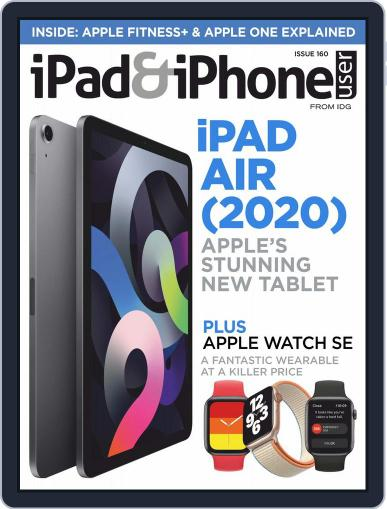 iPad & iPhone User September 1st, 2020 Digital Back Issue Cover
