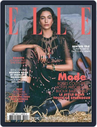 Elle France September 18th, 2020 Digital Back Issue Cover