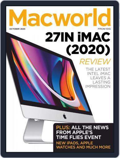 Macworld UK October 1st, 2020 Digital Back Issue Cover
