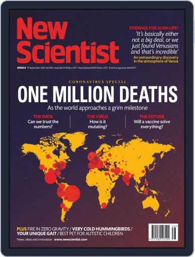 New Scientist Australian Edition September 19th, 2020 Digital Back Issue Cover