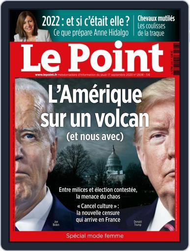Le Point September 17th, 2020 Digital Back Issue Cover