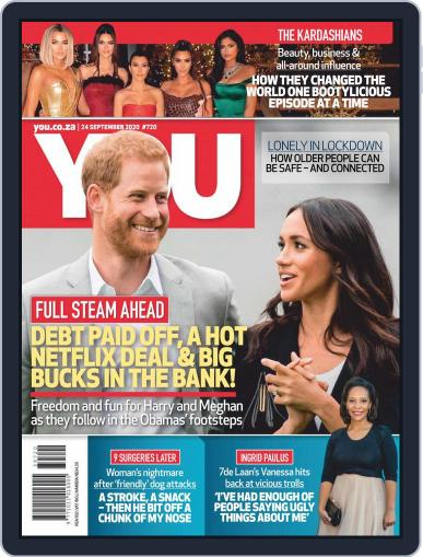 You South Africa September 24th, 2020 Digital Back Issue Cover