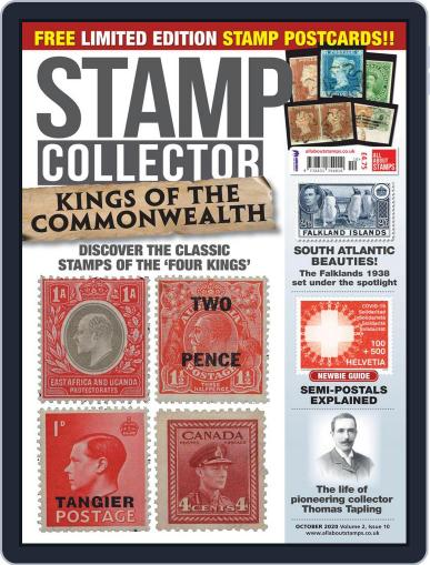 Stamp Collector October 1st, 2020 Digital Back Issue Cover