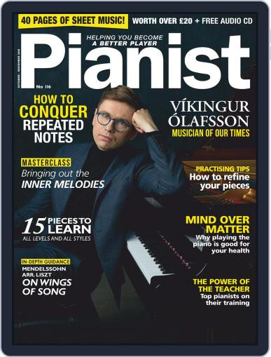 Pianist October 1st, 2020 Digital Back Issue Cover
