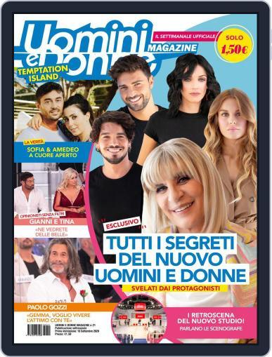 Uomini e Donne (Digital) September 18th, 2020 Issue Cover