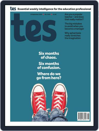 Tes (Digital) September 18th, 2020 Issue Cover