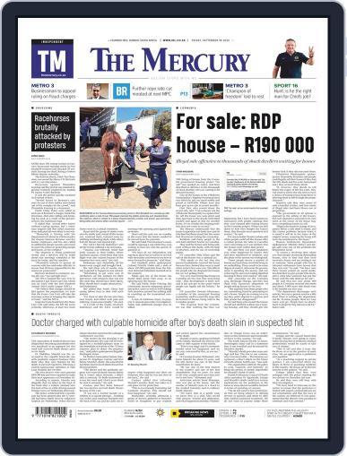 Mercury (Digital) September 18th, 2020 Issue Cover