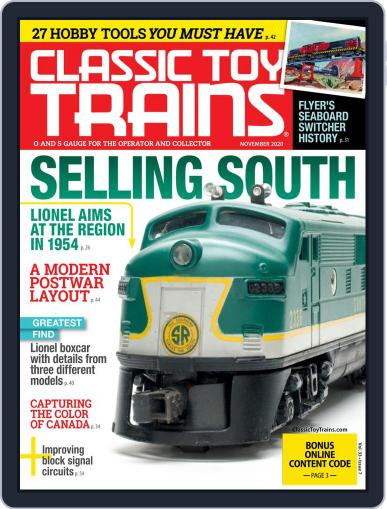 Classic Toy Trains (Digital) November 1st, 2020 Issue Cover