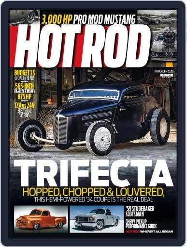 Hot Rod November 1st, 2020 Digital Back Issue Cover