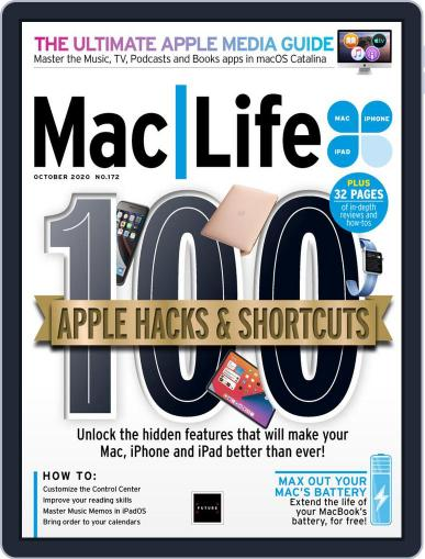 MacLife October 1st, 2020 Digital Back Issue Cover