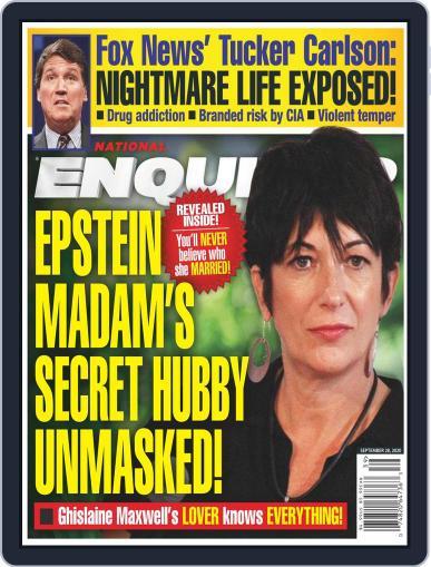 National Enquirer (Digital) September 28th, 2020 Issue Cover