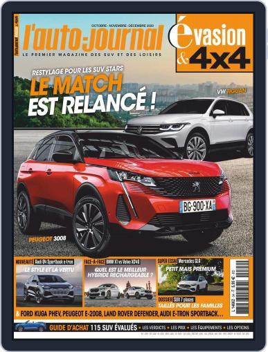 L'Auto-Journal 4x4 (Digital) October 1st, 2020 Issue Cover
