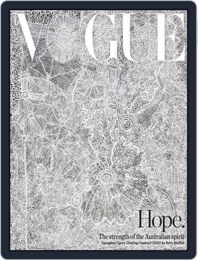 Vogue Australia (Digital) September 1st, 2020 Issue Cover