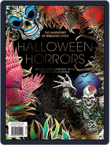 Colouring Book: Halloween Horrors Magazine (Digital) September 18th, 2020 Issue Cover