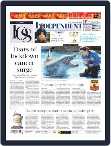 Independent on Saturday (Digital) September 19th, 2020 Issue Cover