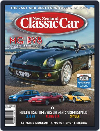 NZ Classic Car (Digital) October 1st, 2020 Issue Cover