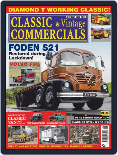 Classic & Vintage Commercials (Digital) October 1st, 2020 Issue Cover