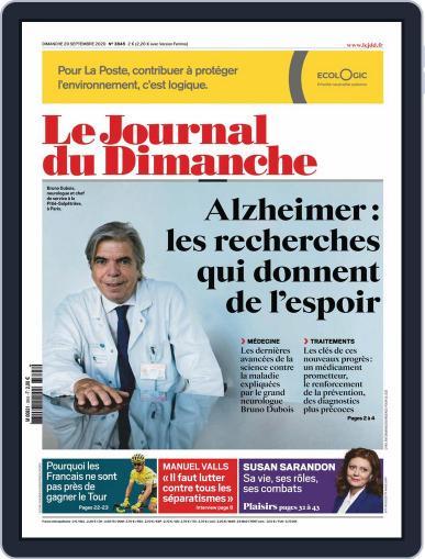 Le Journal du dimanche (Digital) September 20th, 2020 Issue Cover