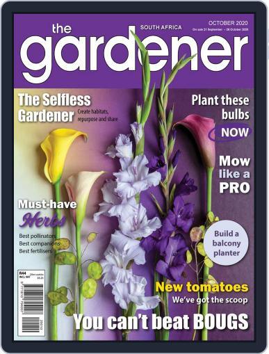 The Gardener October 1st, 2020 Digital Back Issue Cover